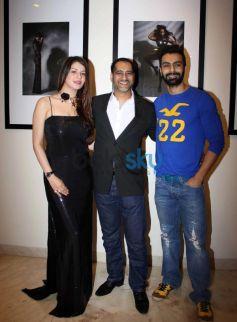 Kainaat Arora, Ashmit Patel at Vikram Bawa's calender launch