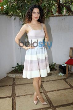 Kangana Ranaut stuns during Queen film promotion