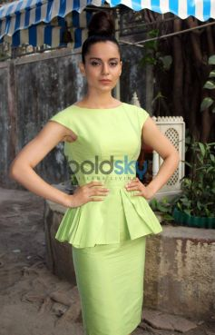Kangana Ranaut stuns during Queen Promotion