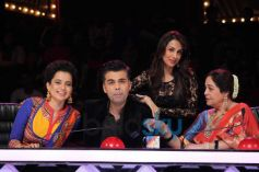 Kangana Ranaut stuns at Indian's Got Talent show