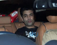 Karan Johar at Abhishek Bachchan 38th Birthday Bash