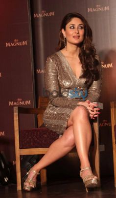 Kareena Kapoor Khan stuns during Magnum Pleasure unveil