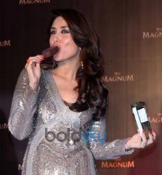Kareena Kapoor Khan stuns at Magnum Pleasure unveil