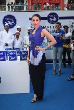 Karishma Kapoor snapped at Tempo Smart Foodie campaign