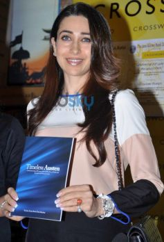 Karishma Kapoor at Timeless Austen book launch