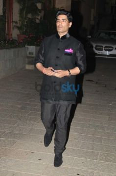 Manish Malhotra at Abhishek Bachchan 38th Birthday Bash