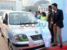 Manish Paul during Lavasa Women's Drive 2014