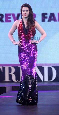 Model ramp at Launch of Retail Jeweller Indian Trendertter 2014