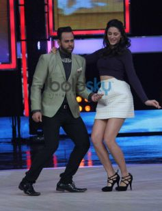 Nargis Fakhri dance moves at India's Got Talent show