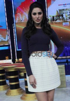 Nargis Fakhri at India's Got Talent show