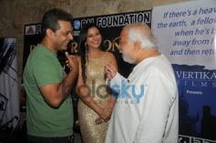 Nasirr Khan with Gurpreet Kaur Chadha & N.Chandra at event