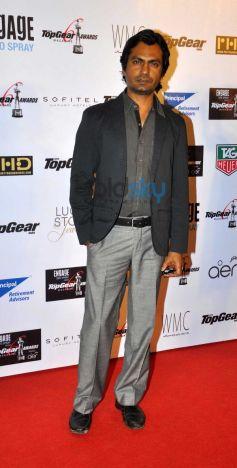 Nawazudin Siddiqui during Top Gear Awards