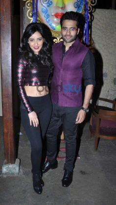 Neha Sharma and Jackie Bhagnani during Announcement of Goa Carnival 2014