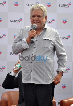 Om Puri during Surya Child Care's Hospital Inauguration
