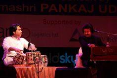 Pankaj Udas snapped during concert