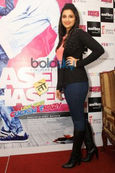Parineeti Chopra during Press Conference of Hasee To Phasee