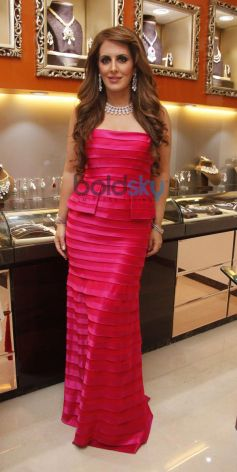 Pria Kataria during Launch of Cappuccino Jewellery Store