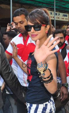 Priyanka Chopra at Gaiety Galaxy theatre