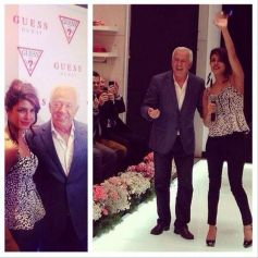 Priyanka Chopra at GUESS store launch