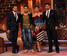 Gundey star cast at Comidy Nights with Kapil show