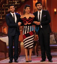 Priyanka,Ranveer,Arjun at Comidy Nights with Kapil show