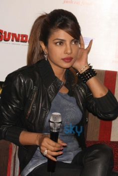Priyanka Chopra stuns during Gunday Promotional Event