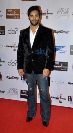 Pulkit Samrat during Top Gear Awards