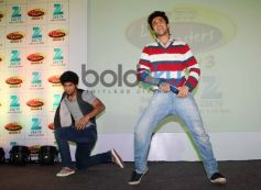Raghav Juyal dance during Press Meet of zee tv's DID Liltle Masters