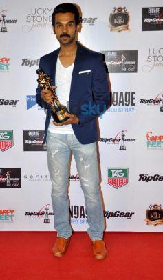 Rajkumar snapped during Top Gear Awards