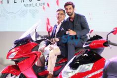Ranbir Kapoor at Auto Expo 2014