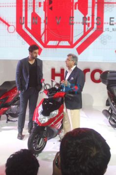 Ranbir Kapoor during Auto Expo 2014