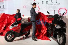 Ranbir Kapoor launch Hero's new Scooters at Auto Expo 2014