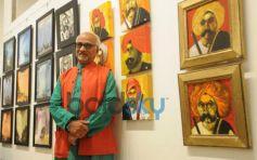 Raosaheb Gurav during exibition