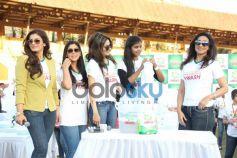 Raveena Tondon Madhoo Shah Sakshki Tanvar and  Rituparna Sen Gupta at Ariel Event