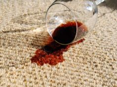 Salt To Clean Wine Stains