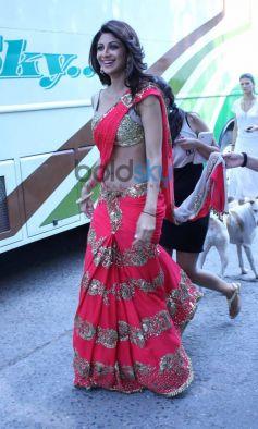 Shilpa Shetty Kundra snapped during Nach Baliye 6 finale