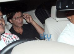 Shahrukh Khan at Abhishek Bachchan 38th Birthday Bash