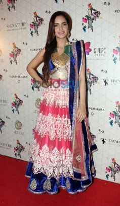 Shazahn Padamsee at Launch of Retail Jeweller Indian Trendertter 2014