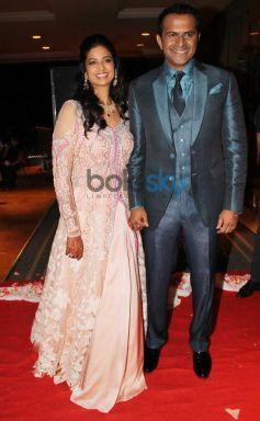 Siddarth Kannan and Neha Aggarwal stuns during their Wedding Reception
