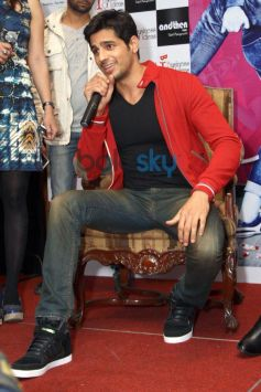Siddharth Malhotra during Press Conference of Hasee To Phasee