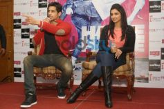 Siddharth and Parineeti during  Press Conference of Hasee To Phasee