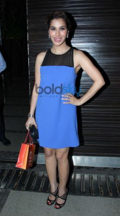 Sofia Chaudhry during Simon Khan Arora Birthday Celebration