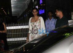 Sonam Kapoor in floral dress at hakkason