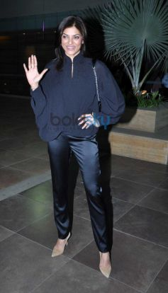 Sushmita Sen during The Secret to Master Your Mind event
