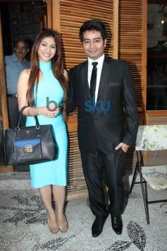 Tanisha Mukherjee and Harsh during summer collection showcare