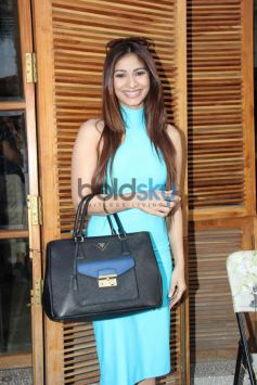 Tanisha Mukherjee at Harsh Gupta's summer collection showcase