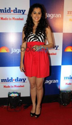 Tapsee Pannu at Mid Day relaunch party