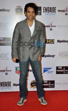 Tushar Kapoor during Top Gear Awards