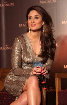 Kareena Kapoor Khan stuns during Magnum Pleasure unveil