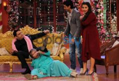 Vidya Balan at Comidy Nights with Kapil